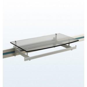 Dymond Rail System - Retail Display - D Bar with Shelf