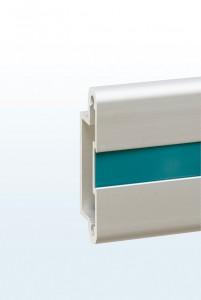 Dymond Rail Display System - Aluminium Rail Section