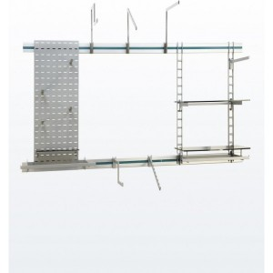 Dymond Rail Display System - Fixtures and fittings