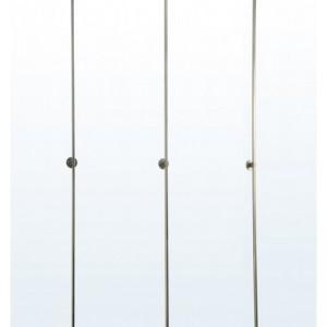 Vertical Beam Display System - Slimline Beams