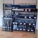 Retail Display Stand for hardware merchandise
